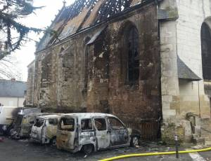 Destruction de l'église
