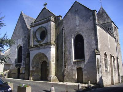 Reconstruction de l'église